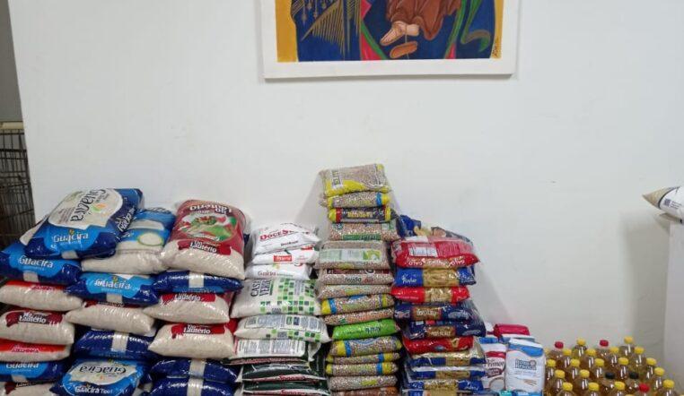 Santuário e AFIM agradecem doações no Domingo do Quilo