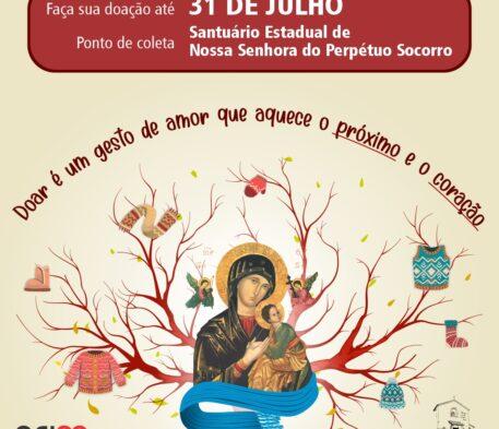 Santuário realiza campanha de arrecadação de agasalhos