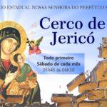"""Cerco de Jericó com o tema """"O ESPÍRITO SANTO DESCERÁ SOBRE TI! (Lc 1,35)"""" terá início sábado, dia 05"""