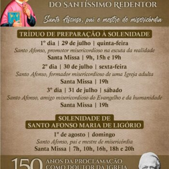 Tríduo de Santo Afonso