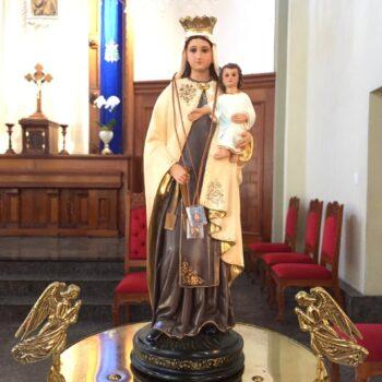 Missa na Festa de Nossa Senhora do Carmo, às 19h