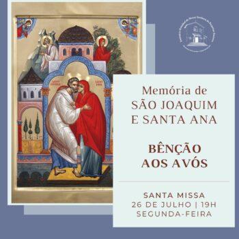 No Dia dos Avós, Santuário realizará bênção especial durante Missa