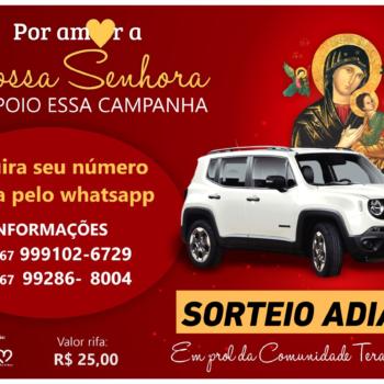 SORTEIO ADIADO