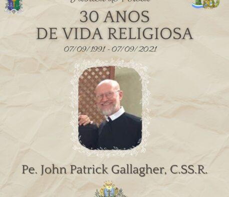 Pe. John Gallagher celebra o Jubileu de Pérola