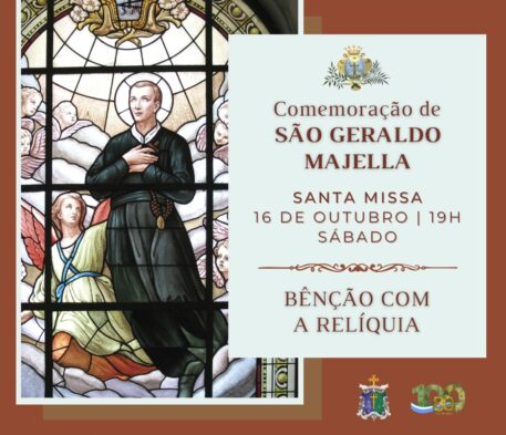 Santuário celebra missa em memória de São Geraldo Majela