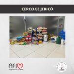 Cerco de Jericó destina alimentos à AFIM